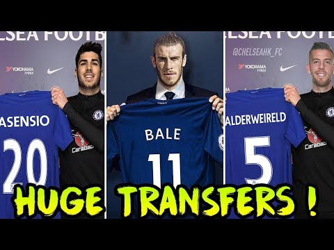 Chelsea TRANSFER News | 5 Players CHELSEA Need To Regain DOMINANCE Ft. Gareth Bale