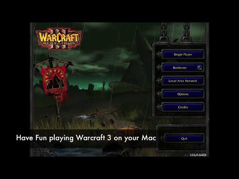 comment installer warcraft 3 sur mac os x