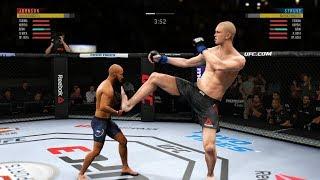 СУПЕР БОЙ! DEMETRIOS JOHNSON vs STEFAN STRUVE в UFC 3 160 см vs 217 см