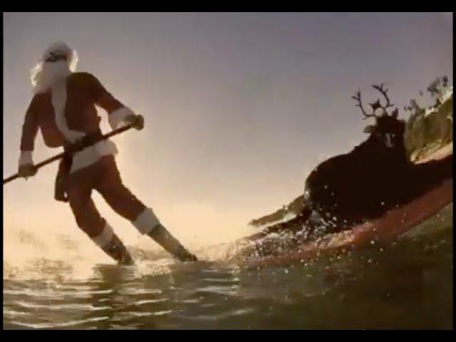 Brandon & Leah - California Christmas (Surfing Santa & Surfing Reindeer)