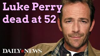 Luke Perry, '90210' & 'Riverdale' Star, Dead At 52