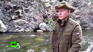 В.В. Путин на рыбалке