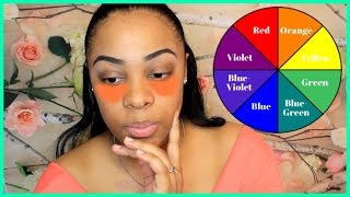 How To Use: L.A. Girl Pro Orange Color Corrector! COLOR CORRECTING
