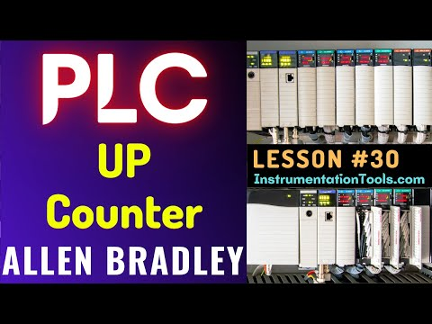 PLC Training 30 - UP Counter (CTU) Programming | RsLogix 500 ...