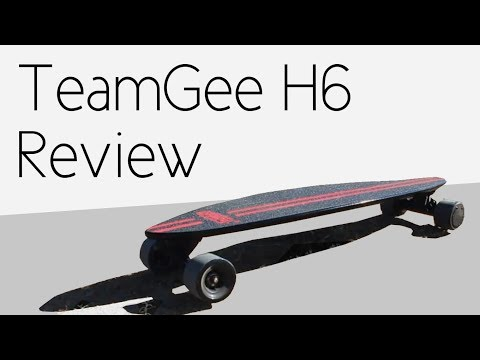 TeamGee H6 Electric Skateboard | Product Review