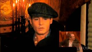 Джонни Депп, Johnny Depp - British Comedy Awards 2013