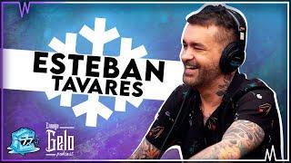Esteban Tavares no podcast Enxuga Gelo