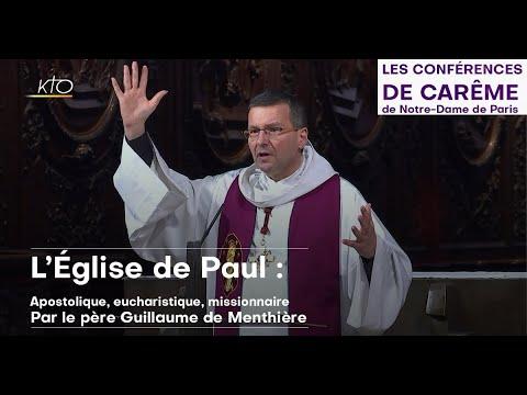 L'Église de Paul: Apostolique, eucharistique, missionnaire