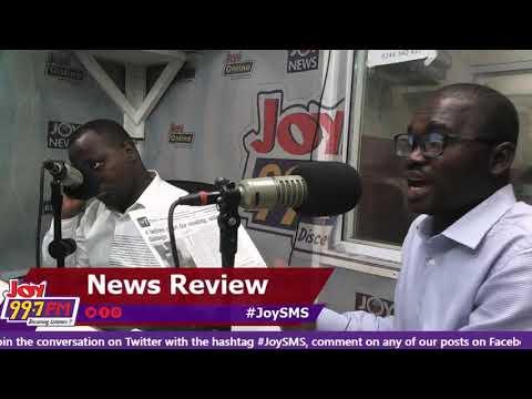 #JoySMS Newspaper Review on Joy FM (12-9-18)