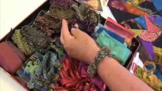 DVD TRAILER: Judith Baker Montano Teaches You Crazy Quilting DVD