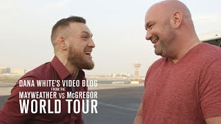 Dana White's Video Blog | MAY/MAC WORLD TOUR | Ep. 1