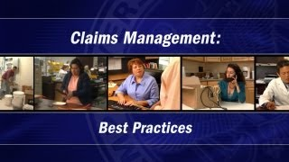 Claims Management Video (excerpts)