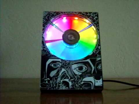 Crazy Hard Drive Clock Was Probably Built By Nerd Ravers