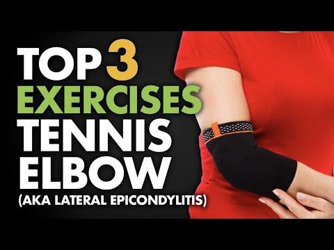 Top 3 Exercises for Tennis Elbow (aka Lateral Epicondylitis)
