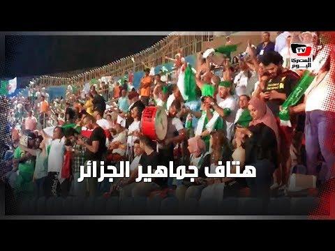 جماهير الجزائر تهز مدرجات «الدفاع الجوي» بعد الهدف الثاني