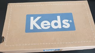UNBOXING KEDS CHAMPION NAVY CANVAS