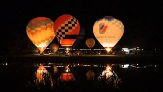 preview picture of video 'Ballonglühen beim Strandbadfest 2012 in Frankenthal'