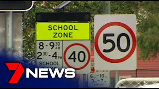 The extensive and expensive list of traffic offences in NSW school zones | 7NEWS