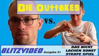 preview picture of video 'Blitzvideo Ausgabe 21 [Das Nicht Lachen Sonst Strafe Spiel] Die Outtakes'