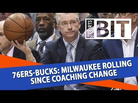 Philadelphia 76ers at Milwaukee Bucks | Sports BIT | NBA Picks