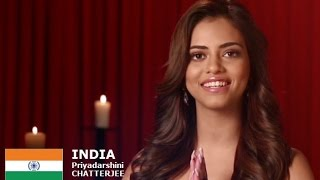 Priyadarshani Chatterjee Contestant from India for Miss World 2016 Introduction