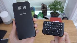 Samsung Galaxy S8 Keyboard Cover Review!