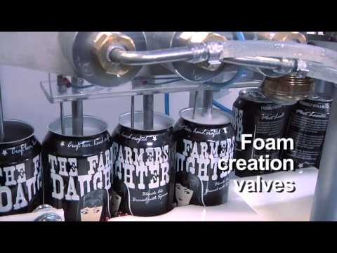 SAMS: Semi-Automated Canning System V1.0 (15 CPM) Can filler sold by Cask Brewing Systems
