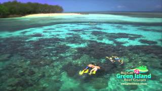Big Cat Green Island offers you the option of a half day or full day cruise.