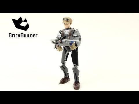 Vidéo LEGO Star Wars 75119 : Sergeant Jyn Erso
