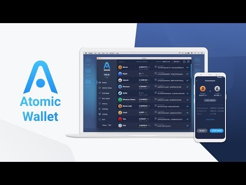 Atomic Wallet  Используем функцию Exchange.  Обмен криптовалюты внутри кошелька!!!