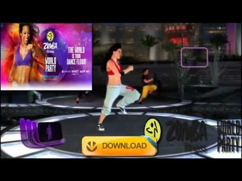 zumba fitness party wii iso