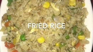 5 min Fried Rice-Quick & Easy by yasmin's recipes