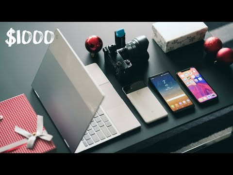BEST TECH UNDER $1000 - December 2017 Holiday Gift Guide + GIVEAWAY