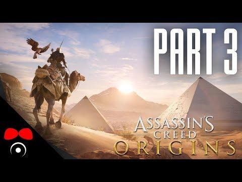 OŽRALA NA OSTROVĚ! | Assassin's Creed: Origins #3