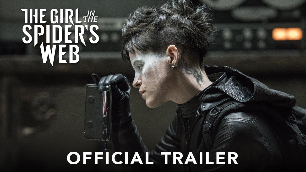 Trailer för The Girl in the Spider's Web