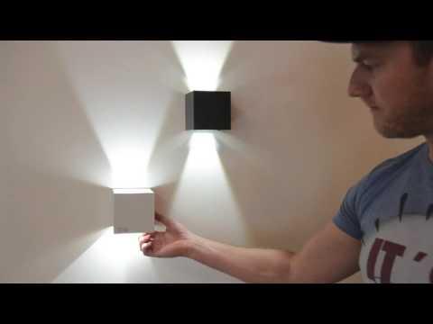 s.LUCE Ixa / LED Wandleuchte / verstellbare Winkel / Innen & Aussen