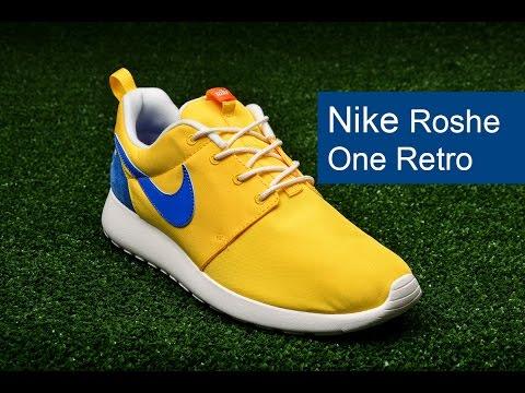 Кросівки Nike Roshe One Retro, відео - інтернет магазин MEGASPORT