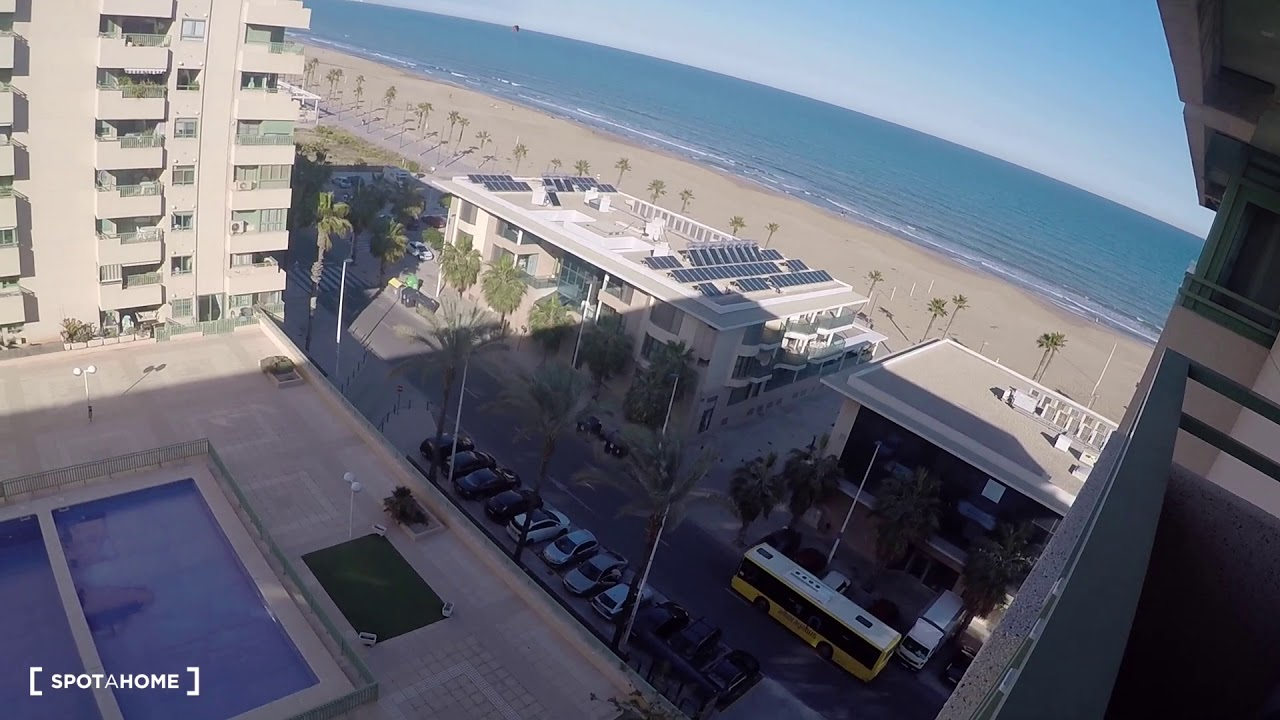 2-bedroom apartment with beach view for rent in Alboraya
