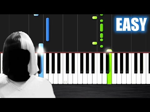 Sia - Cheap Thrills - EASY Piano Tutorial by PlutaX