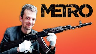 Firearms Expert Reacts To Metro Franchise Guns by GameSpot