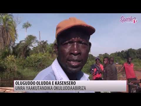 UNRA yakutandika okuddabiriza oluguddo oludda e Kasensero