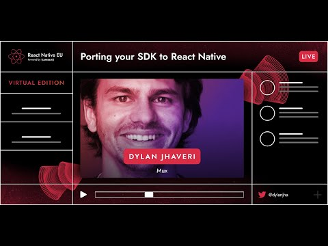 Image thumbnail for talk Porting Your SDK To React Native