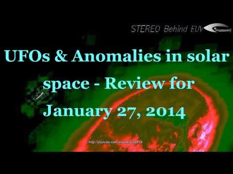 UFOs & Anomalies in solar space – Review for January 27, 2014