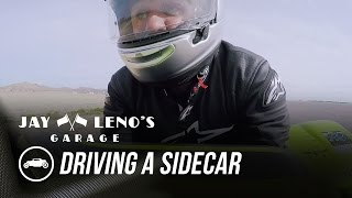 Jay Leno Drives A Sidecar For The First Time - Jay Leno's Garage by Jay Leno's Garage