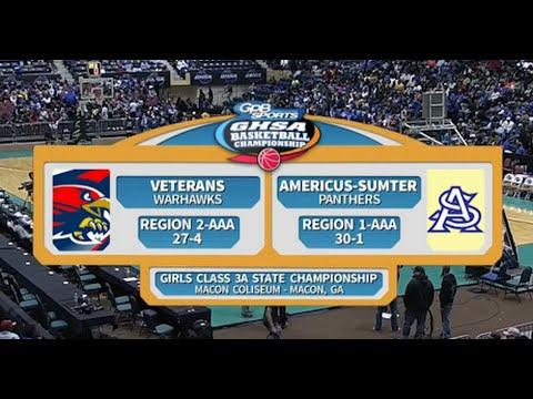 4A Girls Veterans vs. Americus-Sumter (2016)