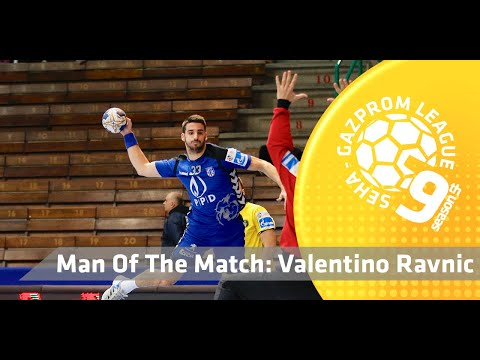 Man of the match: Valentino Ravnic (PPD Zagreb vs Spartak Moscow)