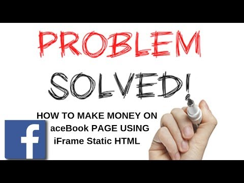 Download How To Make Money On Facebook Using Iframe Static