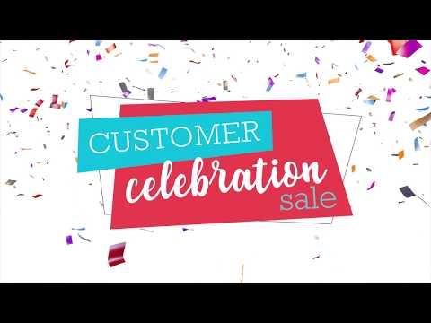 Customer Celebration Sale