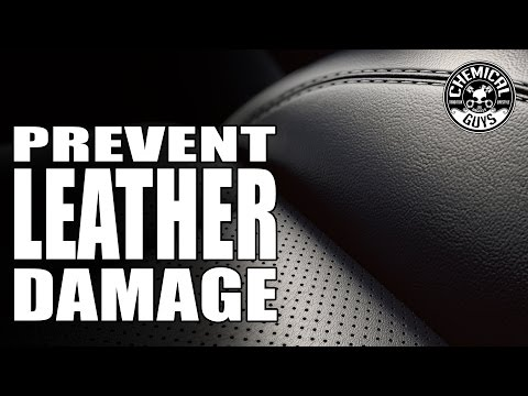 Video How To Prevent Leather Cracks - Chemical Guys Car Care