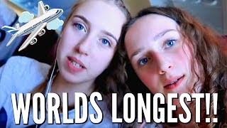 Teens Take Worlds Longest Flight! COME FLY WITH US!